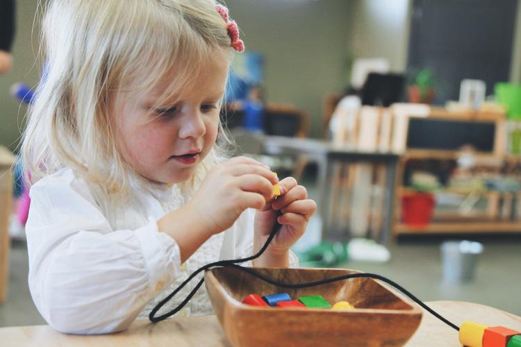 Ребёнок концентрируется на своей деятельности