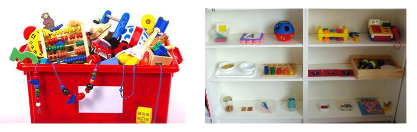 Преимущества полки над коробкой для игрушек