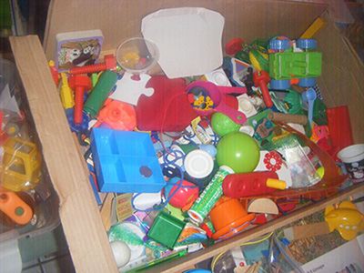 Недостатки коробки для расположения игрушек