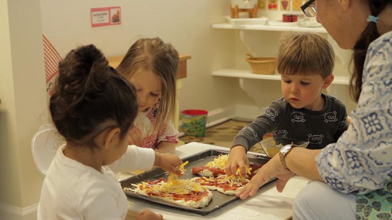 Беседы педагога с детьми в Монтессори-среде