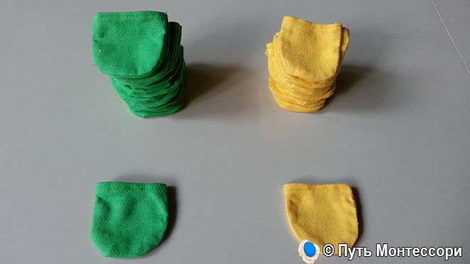 Мини-рукавицы для полировки дерева и зеркал